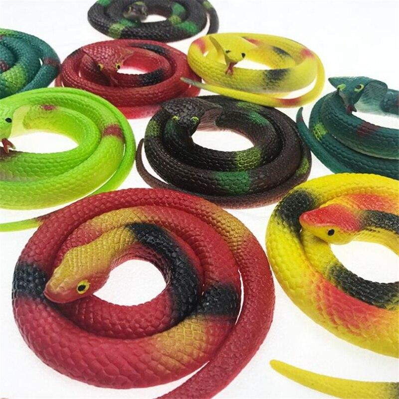 Искусственная игрушка-змея, детский шокер, страшная имитация резиновой змеи, хитрые приколы на Хэллоуин, шутки, розыгрыш, игрушка-антистрес...