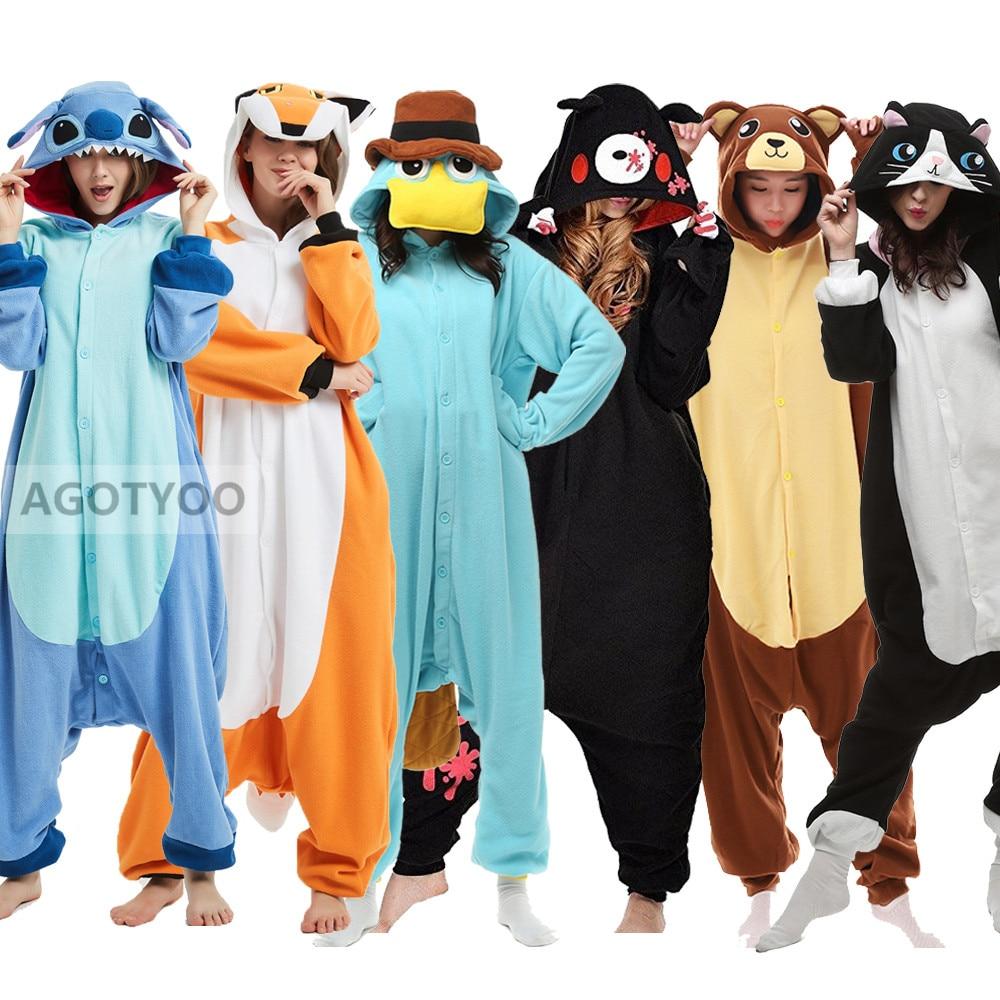 Пижамы с животными для взрослых, женская одежда для сна, Kigurumi, все в одном, пижама с животными, костюмы для костюмированной вечеринки, пижама в виде льва, пижама в виде костюма волка, мультяшная Пижама