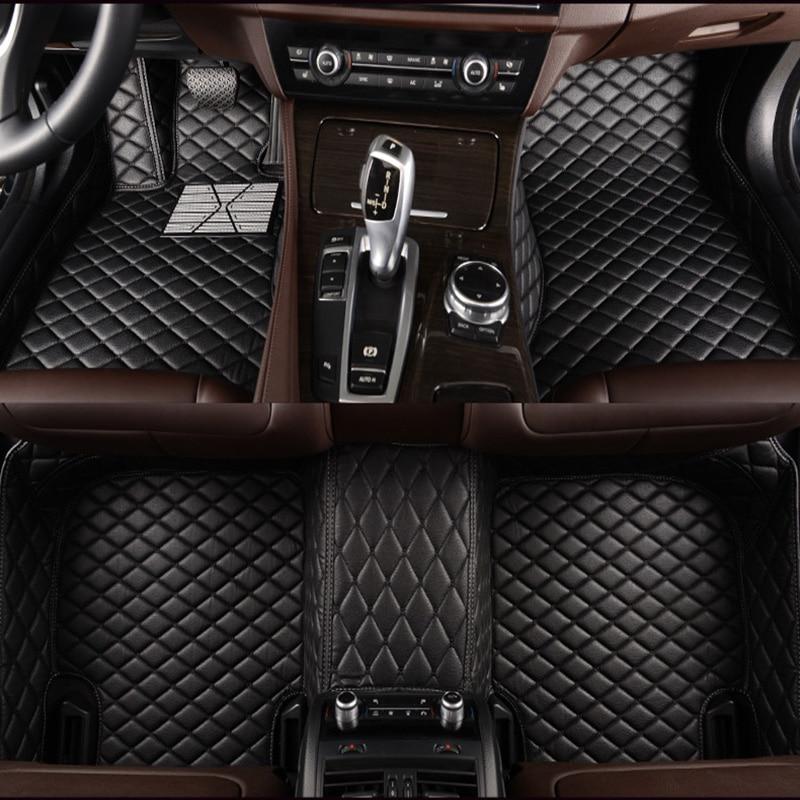 HLFNTF-alfombrillas personalizadas para coche Chrysler 300c, 3D, estilo de coche, alta resistencia,...