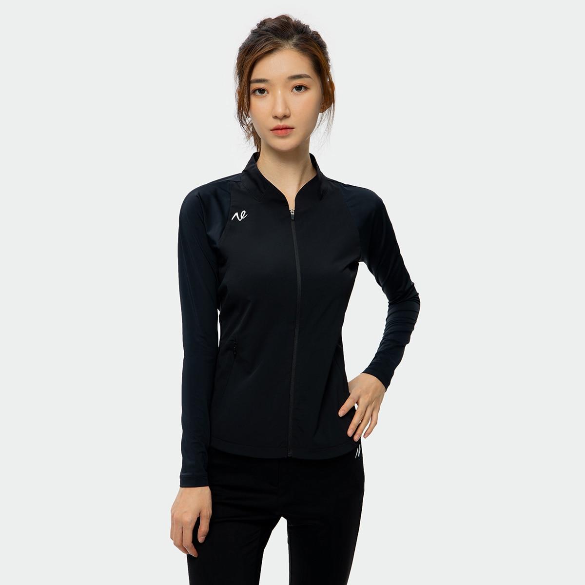 2021 Golf Jacket Ladies, Windproof Jacket Women's Golf Wear Outdoor Sports Running Clothes Stand up Collar Golf Jacket Ladies