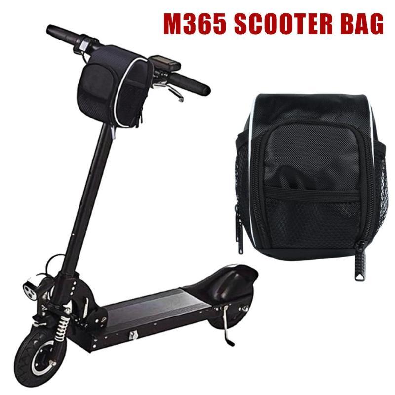 Scooter elétrico lidar com saco da bicicleta aperto bolsa design de cabeça com refletor barra à prova dwaterproof água para xiaomi m365 pro ninebot ES1-ES4