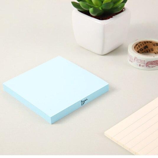 M&G pegatinas integrales 80 página Notas Adhesivas 3X3 suministros de oficina nota papel zi zhan zhi nota YS-153