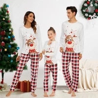 monerffi family matching pajamas set cute deer adult dad mom kid family matching outfits 2021 christmas family pjs clothes