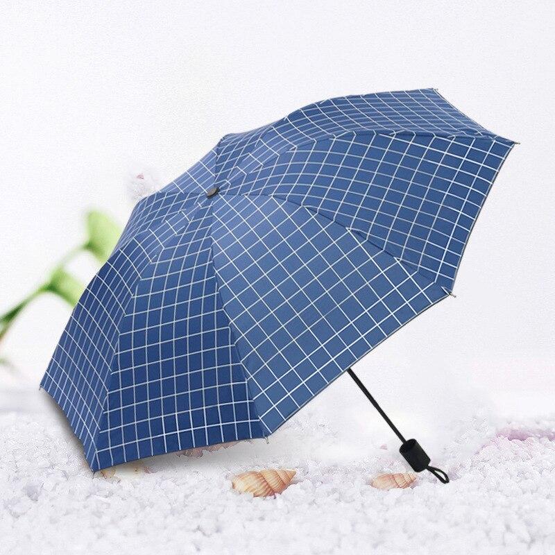 Sun umbrella sunshade UV protection wind resistant umbrella for men and women folding business rain umbrellas enlarge