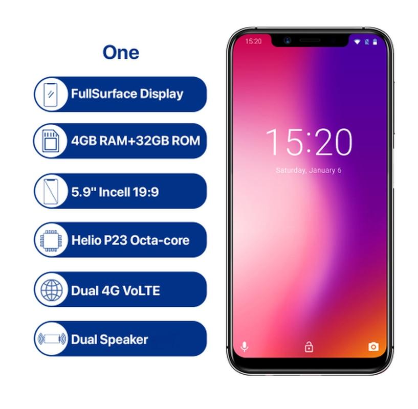 UMIDIGI One Octa Core Cellphone 5.9