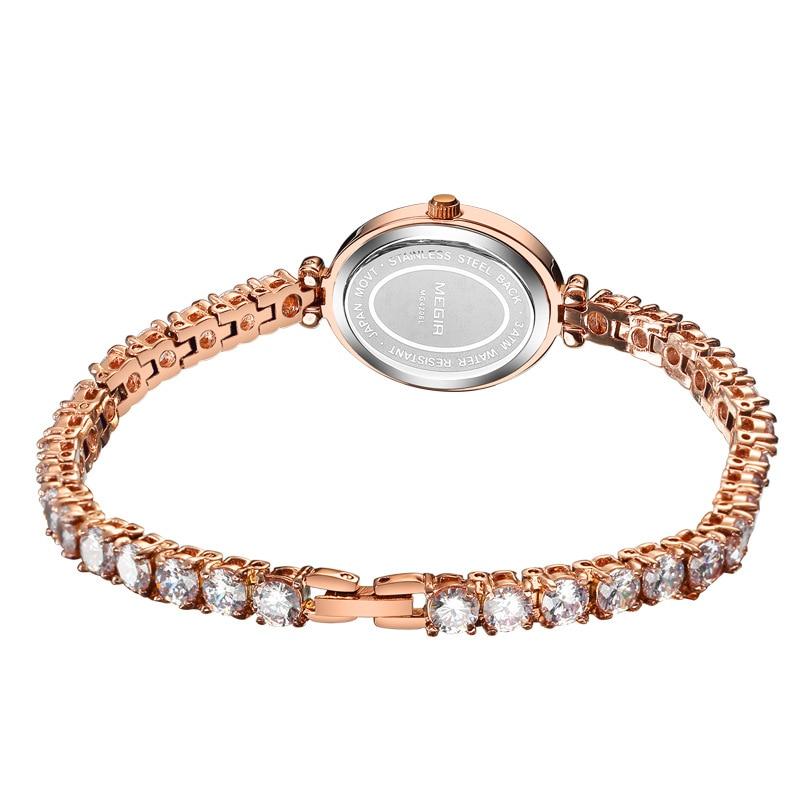 Ladies Watches Bracelet Light Luxury Diamond Leisure Wild Upscale Women Quartz Watch Wrist Watch Relojes Mujer 2020 enlarge