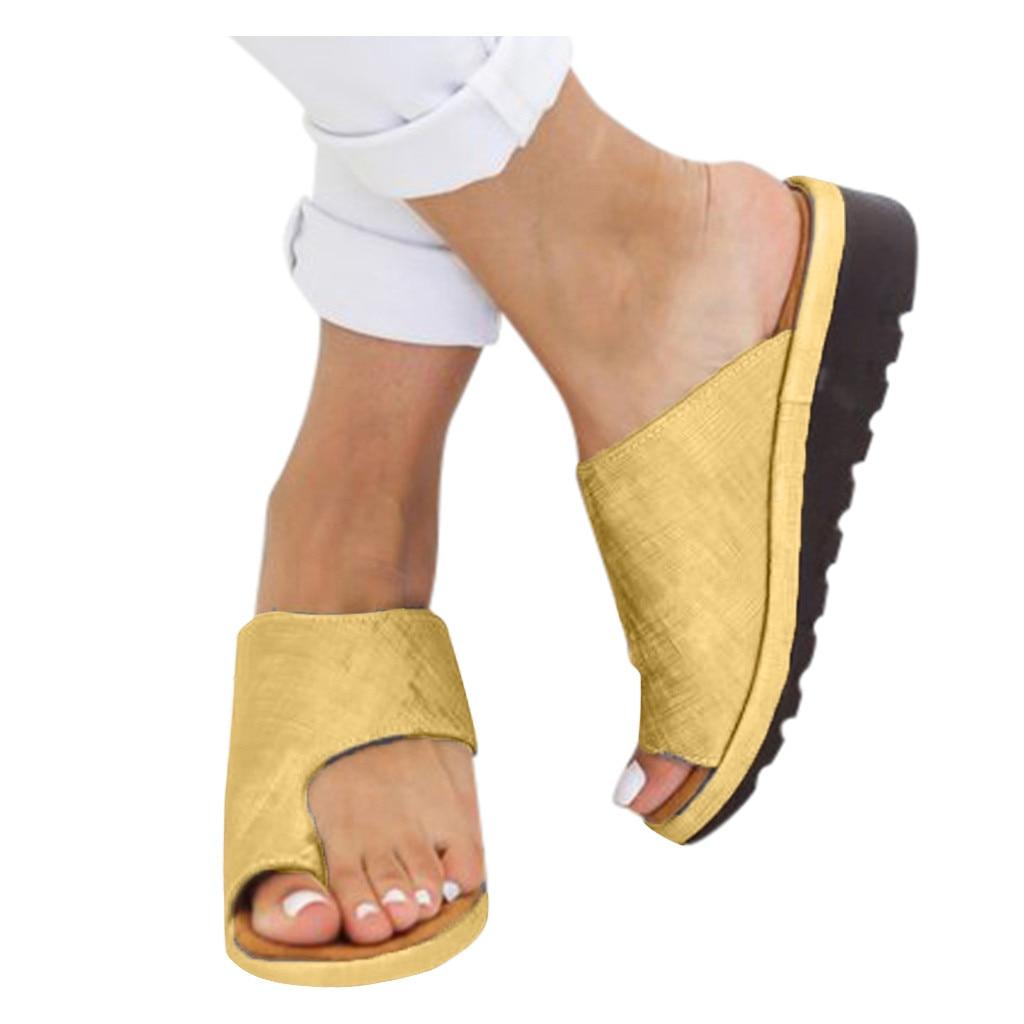 Womens Fashion Flats Fluorescent Color Open Toe Beach Shoe Roman Slippers Sandal тапочки женские 35-43size daily wear gifts 2020