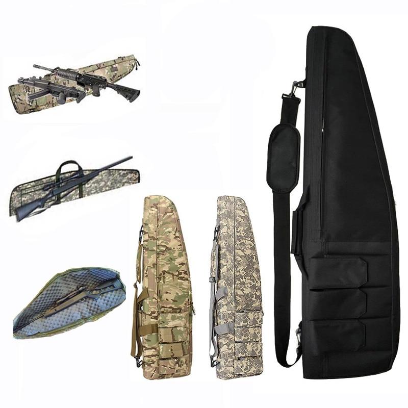 Bolsa de Arma ao ar Tático Livre Militar Sniper Gun Carry Caça Bolsa Proteção Case Airsoft Tiro Rifle Acessórios Mochila 118cm