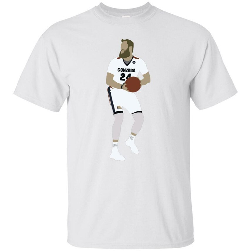 Przemek Karnowski Gonzaga de baloncesto camiseta blanca S-3XL Camiseta estilo urbano camiseta