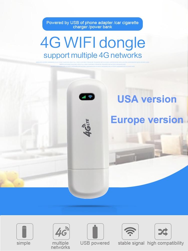LDW922 3G/4G WiFi Router 4G dongle Mobile Portable Wireless LTE USB modem dongle nano SIM Card Slot pocket hotspot