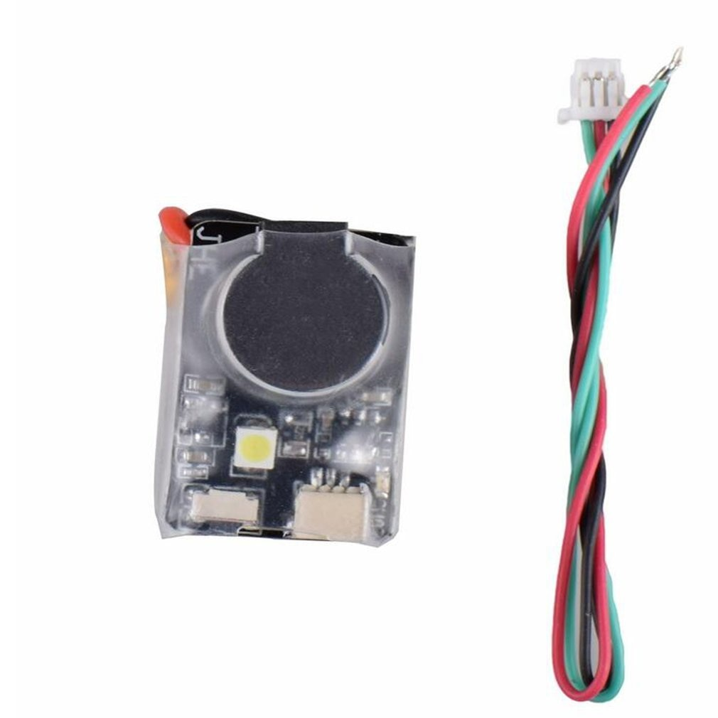 JHE42B Finder 5V Super ruidoso zumbador Tracker 110dB con alarma zumbador LED para Multirotor FPV Racing Drone controlador de vuelo