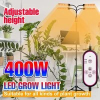 led plant growth lights full spectrum led tripod phytolamp for plants timing 3 colors dimming hydroponics greenhouse 300400w