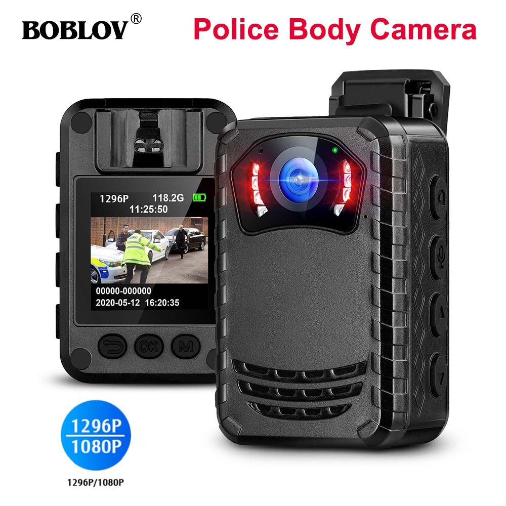 BOBLOV-كاميرا صغيرة N9 Full HD 1080P ، كاميرا شرطة محمولة ، كاميرا للجسم ، دراجة نارية ، هيكل صغير