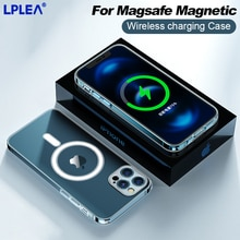 Full Cover Lens For Magsafe Magnetic Wireless Charging Case For iPhone 13 Pro Max Shockproof Apple 1