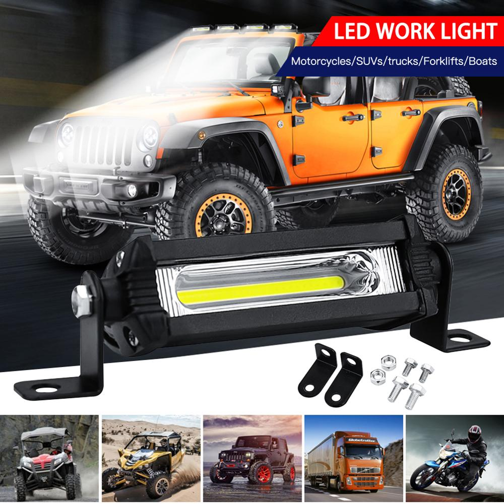 1 шт. 9 Вт противотуманный автомобильный внедорожный светодиодный рабочий Автомобиль светильник 12 V-24 V Универсальный внедорожник автомобил...