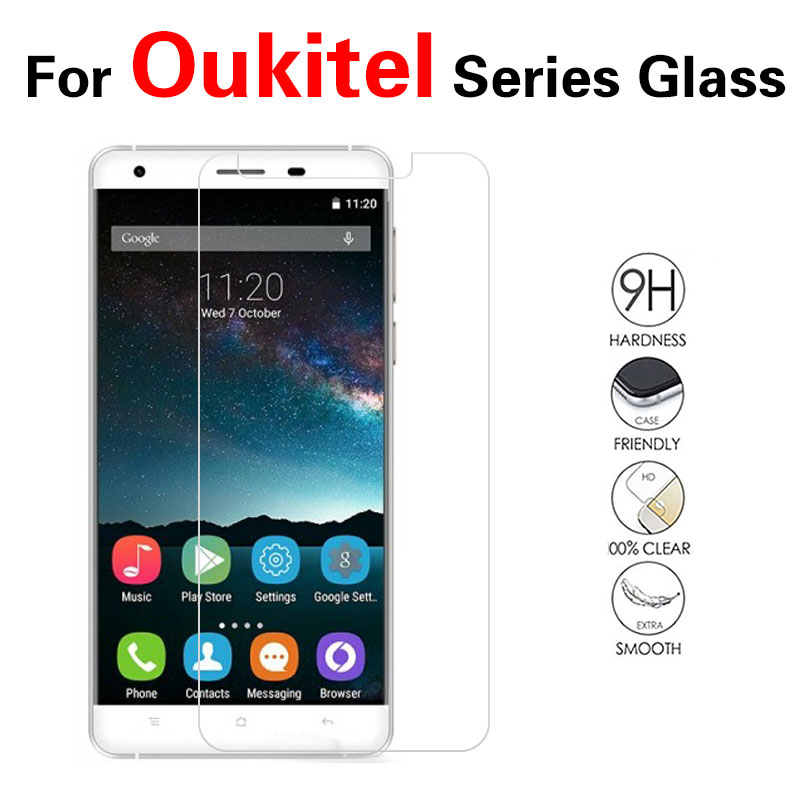 Tempered Glass Film For Oukitel U10 U7 Max U15 Pro K10000 K40000 K60000 Screen Protector Front Clear Glass Film + Cloth