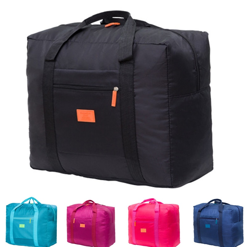 bagsmart waterproof black nylon gown garment bag for traveling with handle lightweight suit bag business men ravel bags for suit Portable Multi-function Bag Folding Travel Bags Nylon Waterproof Bag Large Capacity Hand Luggage Business Trip Traveling Bags