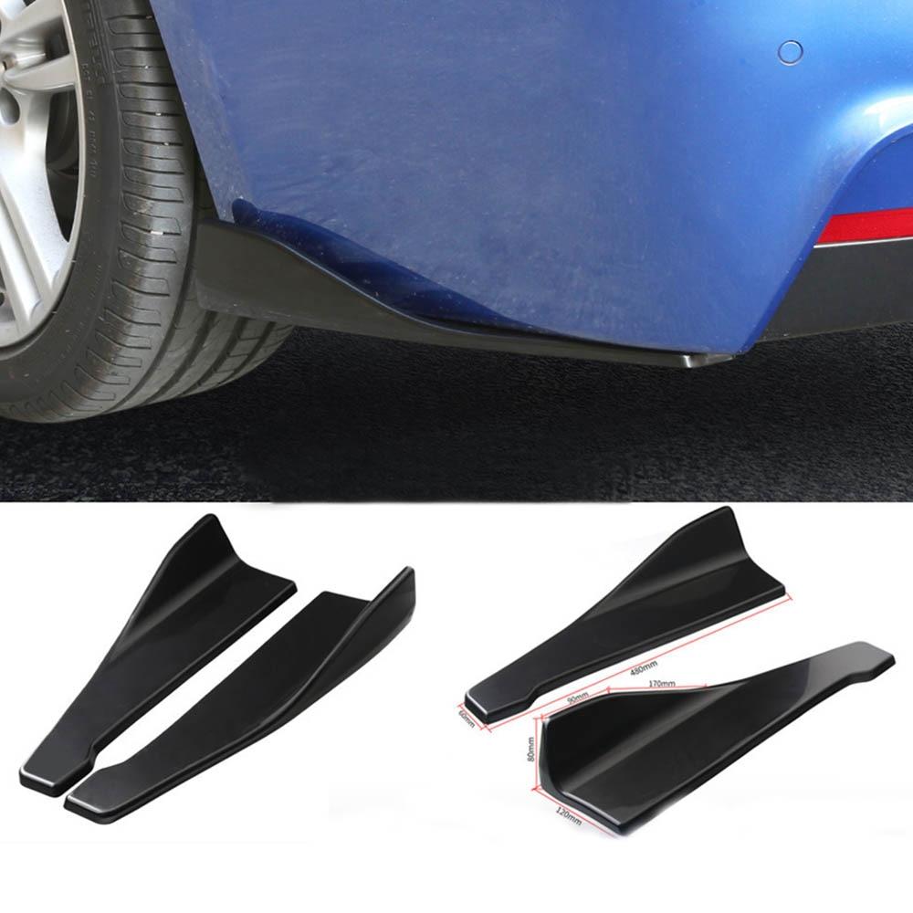 Car Bumper Lip Winglets Skirt Splitter Rear Splitter for Mitsubishi ASX Endeavor Expo Galant Grandis Lancer Mirage Montero
