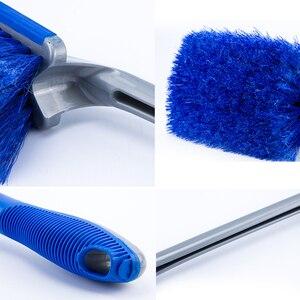 Image 5 - Инструменты для мойки автомобиля, щетка для чистки шин, щетка для ступицы обода колеса, инструмент для детейлинга автомобиля, щетка для чистки ковра