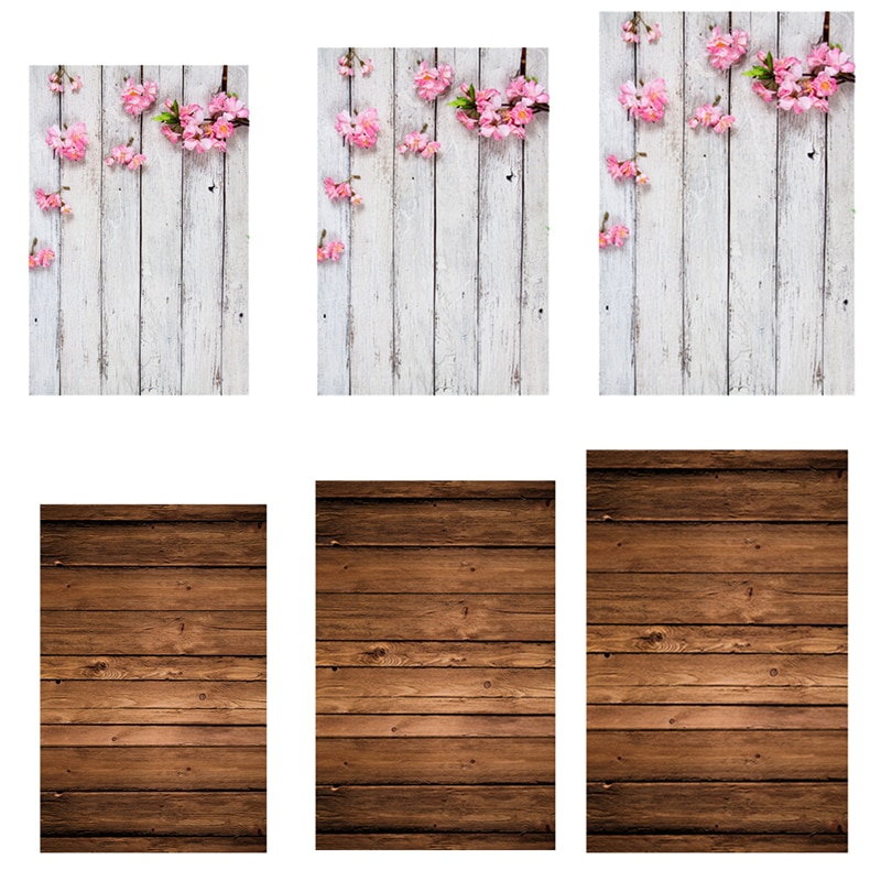 Foto de vídeo tablero de madera tablones textura fotografía Fondo de estudio utilería fotográfica comida telón de fondo tela 0.8x1.2m