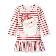 Jumping Meters Christmas Unicorns Girls Dresses Cotton Applique Long Sleeve Baby Dresses Children Autumn Clothing Princess Dress