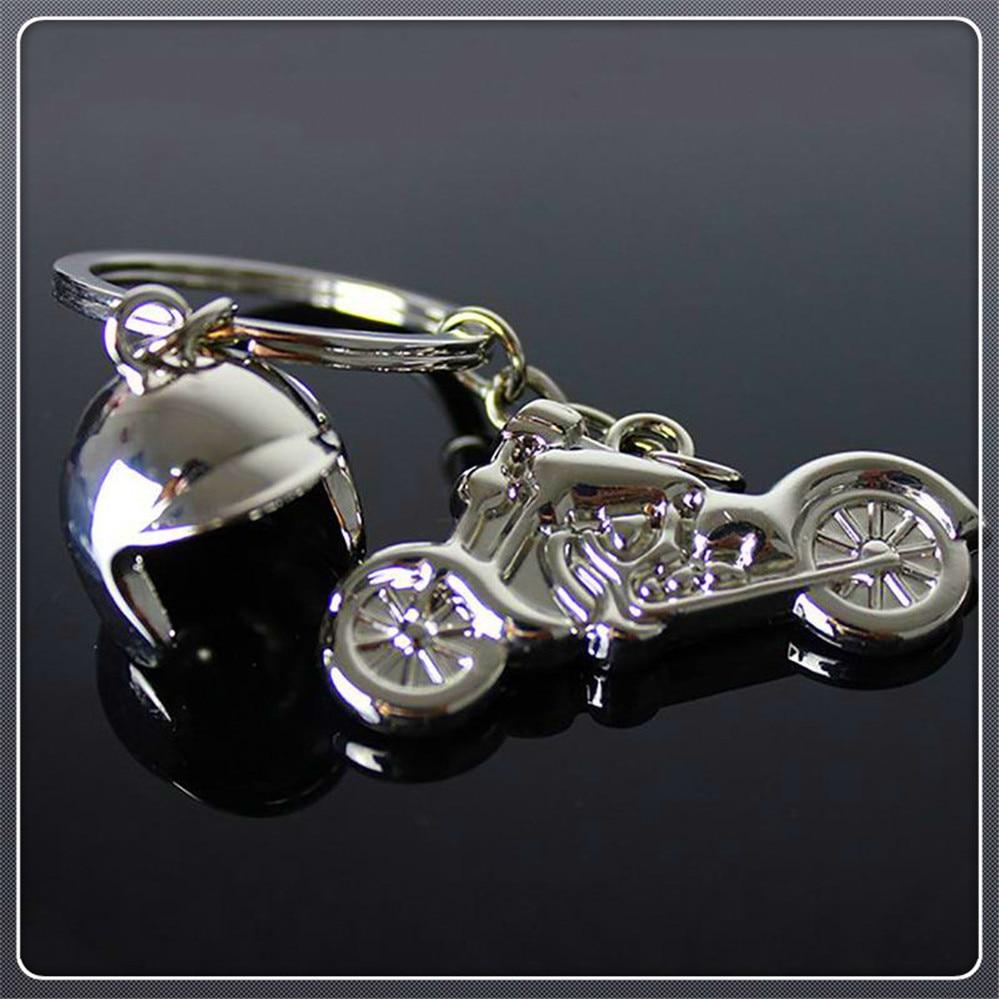 Classic 3d Motorcycle Helmet Alloy KeyChain KeyRing key chian Gift for Ducati MONSTER 400 620 MTS 695 696 796 S2R 800 DaRk