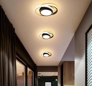 Modern Led Chandelier Ceiling Light For Living Room Bedroom Corridor Balcony Lighting Round Square Lamp Decoration Ceiling Lamp
