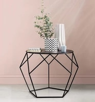 household tie yi nordic tea table contracted and modern creative small family living room bedroom bedside circular small tea tab
