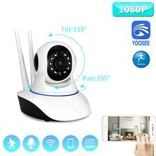 Caméra sans fil Wifi IP 1080P Yoosee   Mini caméra PTZ 2 mp ONVIF, carte Audio bidirectionnel P2P SD, pour vidéosurveillance, moniteur de Surveillance à domicile