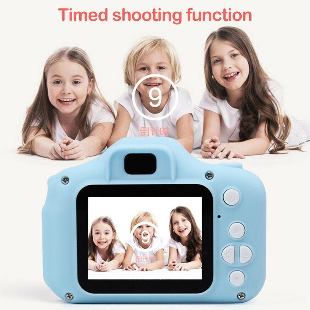 2 Inch Digital camera For children Mini Full Color Camera Camcorders Camcorder Digital Child Digital Video Mini Recorder Cu M3F4