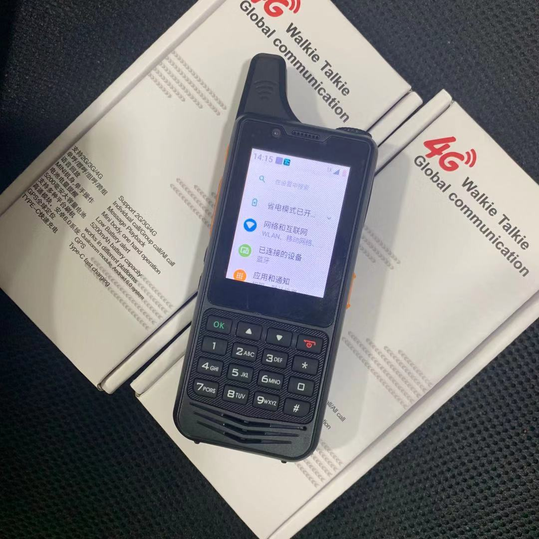 Zello Poc Radio Receiver Real-PTT SmartPTT 4G Network Walkie Talkie GPS SOS Camera Smart Phone Walkie Talkie 100 Km Long Range enlarge