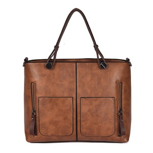 Women's High Quality PU Leather Bag for Shoulder Carry  Elegant Retro Female's Handbag Suitable For Work Dating Shopping