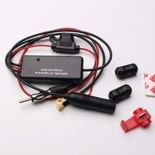 Universal 12V Auto ANT-208PLUS 3-en-1 coche Radio FM AM DAB antena amplificador de señal