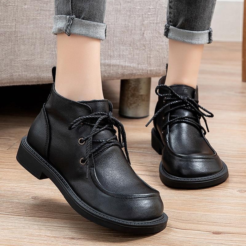 جديد أحذية النساء الشتاء التمهيد الساخن الإناث سجادة مطاطية مريحة العلامة التجارية الأحذية النسائية الفاخرة الاحذية