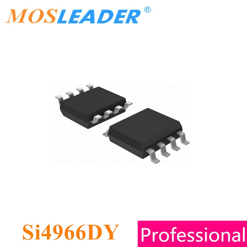 Mosleader Si4966DY SOP8 100 قطعة Si4966 المزدوج N-قناة 20 فولت المحرز في الصين جودة عالية