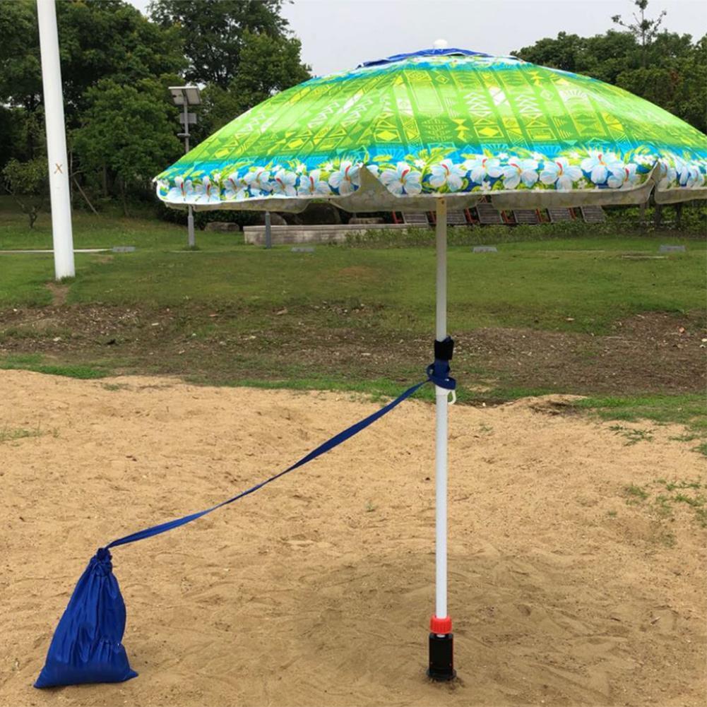 Sombrilla de playa ancla de arena soporte de anclaje de tierra resistente para arena césped Patio soporte Dropshipping