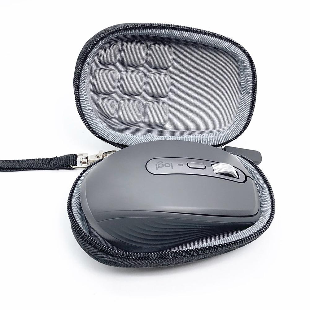 Portable Hard EVA Travel Case for Logitech MX Anywhere 3 Waterproof Dustproof Moistureproof Mice Bag