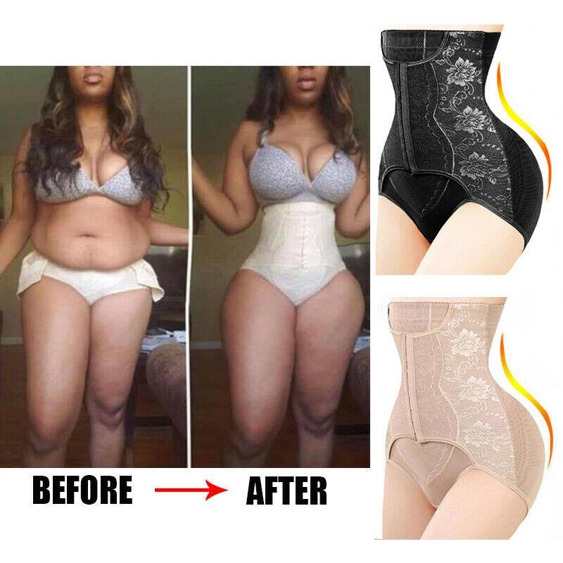 Faja Women Waist Trainer Body Shaper Butt Lifter High Waist Control Panties Shapewear Tummy Shaper Girdle Slimming Belt