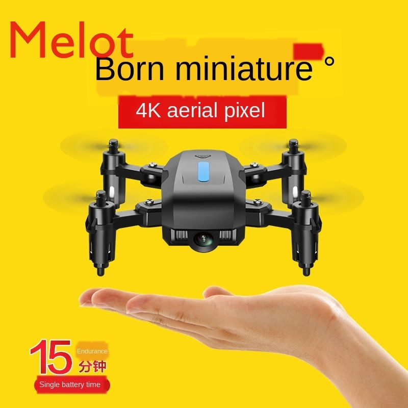 Folding Sensitive Four-Axis UAV (Unmanned Aerial Vehicle) Aerial Photography HD Mini Adult PlayGear 4K Remote Control Aircraft enlarge