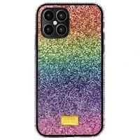 iphone case the rainbow gradient is suitable for iphone 11 glitter phone case 11 pro iphone case xr frame flash diamond 12pro