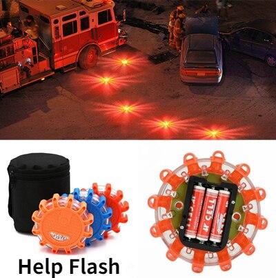 Kogut-luz led de emergencia para coche, luces de emergencia v16 para coche