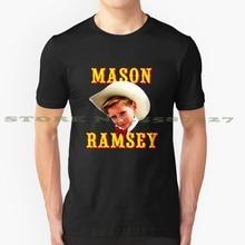 Mason Ramsey Black White Tshirt For Men Women Country Cowboy Walmart Mason Ramsey