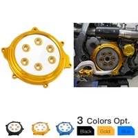 nicecnc clear clutch cover guard protector for suzuki drz400 drz400e drz400s drz400sm drz 400 400e 400s 400sm e s sm accessories