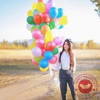 100pcs 12inch pearly light latex balloons wedding decoration childrens birthday gift anniversary baby shower helium balloon