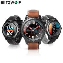 [Bluetooth 5.0] Blitzwolf BW-HL2 Smart Horloge 1.3 'Volledige Ronde Touch Screen Hartslag Bloeddruk O2 Monitor IP67 Smartwatch