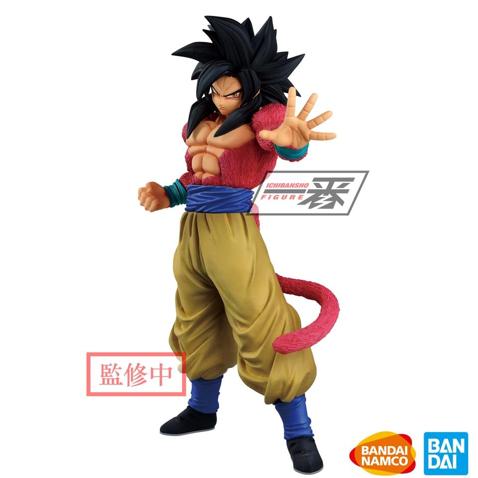 Tronzo Banpresto Dragon Ball GT, el mejor Saiyan Goku SSJ4 de PVC, modelo de figura de acción, juguetes, figuras de Super Saiyan Goku, regalo