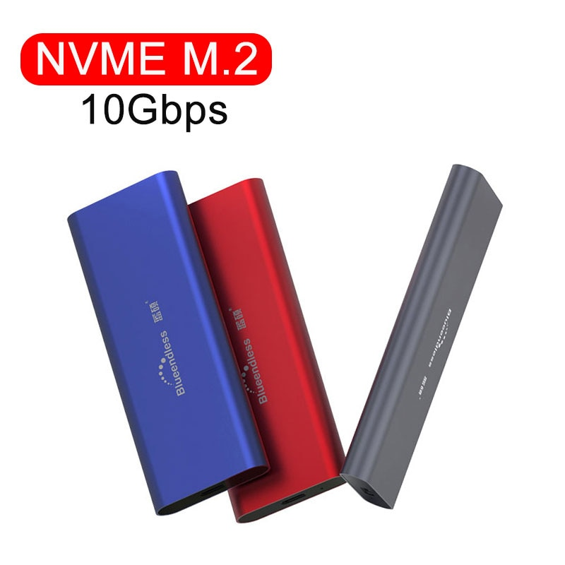 PCIE M.2 NVME GEN2 10Gbps NVME Case TYPE C USB 3.1 SSD Enclosure NGFF Case USB SSD Case HDD Enclosure For Solid State Disks