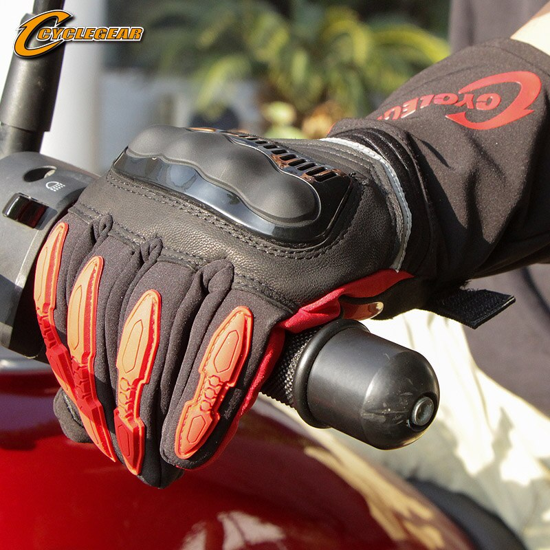 Winter Motorcycle Gloves Waterproof Full Finger Riding Gloves Warm Guantes Moto Non-slip Motorbike Protective Gears Motor Gloves enlarge