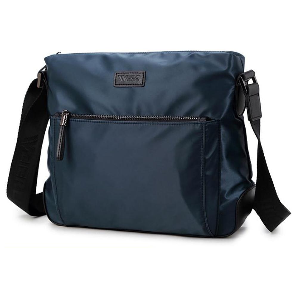 Messenger Bag for Men,Water Resistant Small Oxford cloth Satchel Bag Business Shoulder Crossbody Bag for Travel School and Work