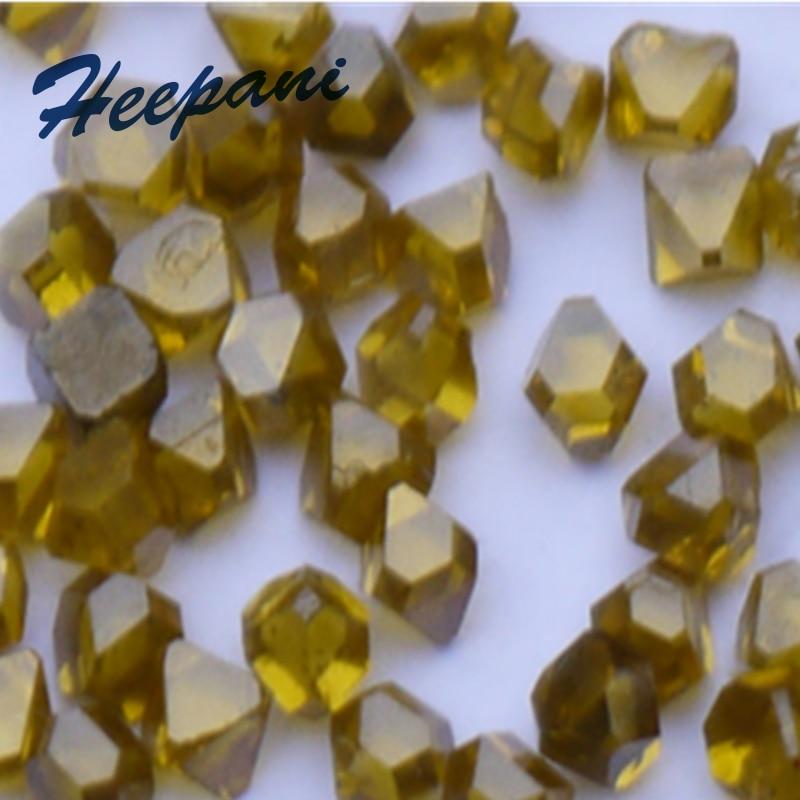 شحن مجاني عالية الجودة 5 قطعة/الوحدة واحدة الكريستال الاصطناعية الماس حجم 2.2 مللي متر مع 0.109 جرام/قطع الصلبة الاصطناعي الماس الحبيبية
